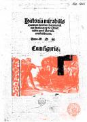 Historia mirabilis quattuor heresiarcharum ordinis praedicato de obserua tia apud Bernen combustorum