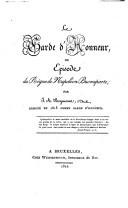 Le garde d'honneur, ou Episode du règne de Napoléon Bonaparte