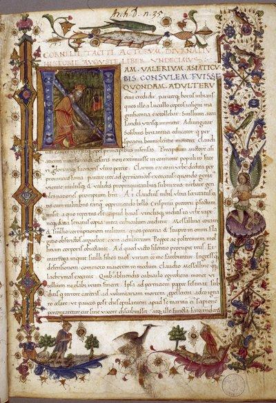 Annals XI-XVI, Histories I-V.