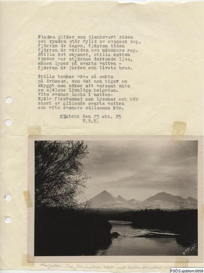 dikt, poesi
