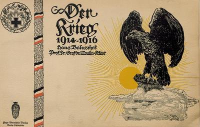 Der Krieg 1914 - 1916 in 12 farbigen Kunstblättern nebst vielen Textbildern