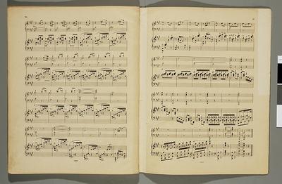 A son maître Théodore Leschetizky. Concerto en La-mineur pour Piano et Orchestre par J.J. Paderewski. Op. 17 [partytura ze zbioru Ignacego Jana Paderewskiego]
