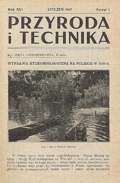 Image from object titled Przyroda i Technika, R. 16, Z. 1