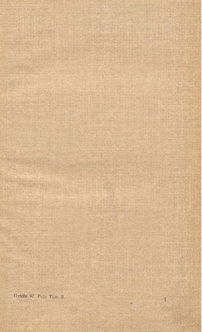 Dzieła poetyckie Wincentego Pola. T. 2, obejmujący: Pamiętniki J.M. pana B. Winnickiego ; Mohort ; Słowo a sława ; Stryjanka