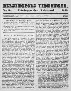 Helsingfors Tidningar, nr: 5