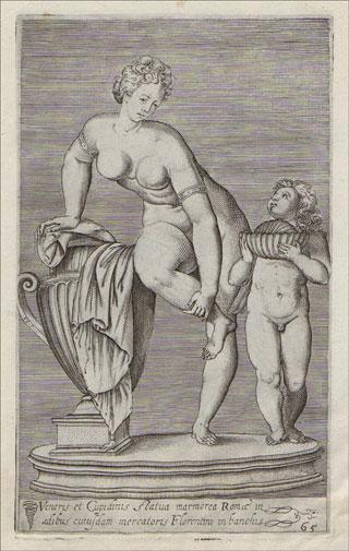Antiqvarvm Statvarvm Vrbis Romae, Quae in publicis priuatisque locis visuntur, Icones