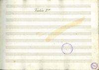 [Cuarteto compuesto para dos violines, viola y violonchelo, y dedicado á D. Felipe de Soto y Posada por ... Juan Paez] [Manuscrito] : violín 2o.