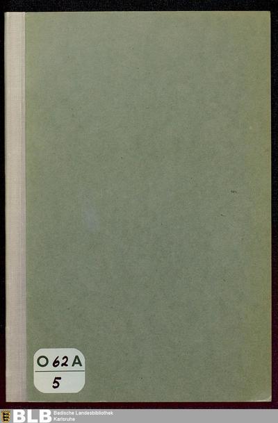 Vom badischen Kriegsschauplatze im Jahre 1870/71 : nachträgliche Darstellung der Erlebnisse eines damaligen Bewohners von Kehl