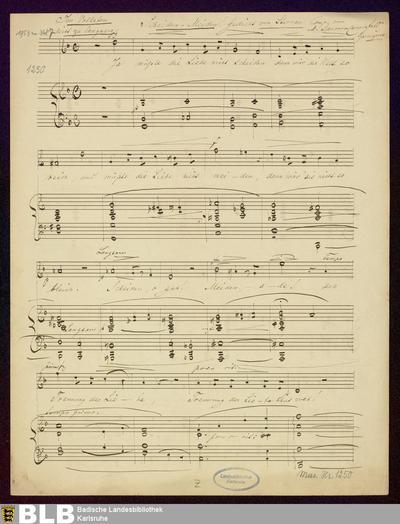 Scheiden Meiden - Mus. Hs. 1250 : V, pf ; d
