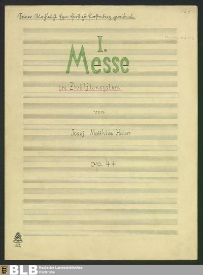 Masses - Don Mus.Ms.Ded. 112 : V (4), orch, org