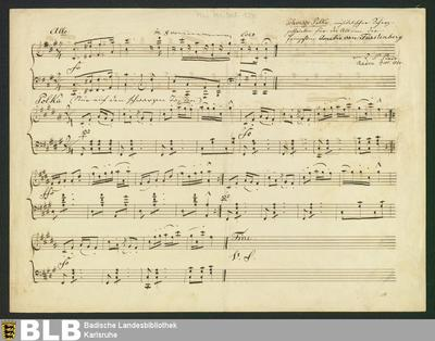 Schwarze Polka - Don Mus.Ms.Ded. 124 : pf ; F|x