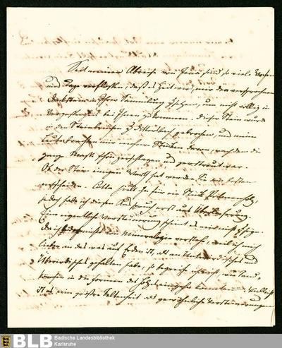 Brief von Johann Gottlob von Quandt an Gustav Schueler - K 703