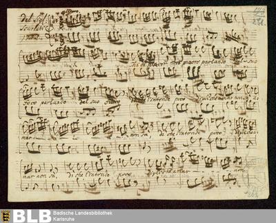 Dario. Excerpts - Mus. Hs. 862 : S, b ; A
