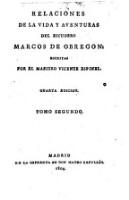 Relaciones de la vida y aventuras del Escudero Marcos de Obregon. 4. ed (Tom.2)