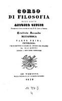 Metafisica : Ontologia (4=Bd.2,T.1)