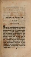 Edmund Burke's Leben etc.; aus dem Englischen von Johann-Christian Fick