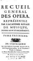Polidore, Tragedie, Representée ... 1720. (Tom.13)