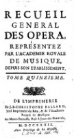 Endymion, Pastorale Heroique; Representée ... 1731 (Tom.15)