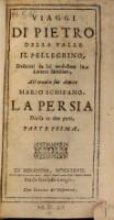 Viaggi, descritti da lui medesimo in lettere familiari (P. 1)
