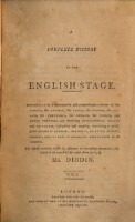 Book I. Containing a Review of the Asiatic, the Grecian, the Roman, the Spanish, the Italien, the Portugese, and the German Theatres : A Complete History Of The English Stage