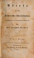Briefe über die Kantische Philosophie. (Bd. 1)