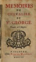 Memoires du Chevalier de St. George
