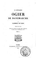 La Chevalerie Ogier De Danenarche Par Raimbert De Paris
