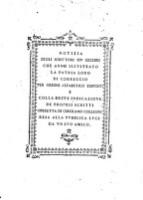 Notizia degli scrittrori piu celebri, che anno illustrato la patria loro di Correggio per ordine alfabetico disposti (etc.)