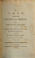 A tour through Sicily and Malta. In a series of letters ... A new edition (Vol. II)