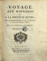 """Voyage Aux Moluques Et A La Nouvelle Guinee, Fait sur la galere """"la Tartare"""" en 1774, 1775 & 1776, par ordre de la Compagnie Angloise"""