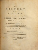 The History Of The Reign Of Philip The Second, King Of Spain. The Second Edition, Corrected (Vol. I.)