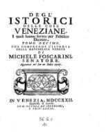 Dell' historia Veneta libri