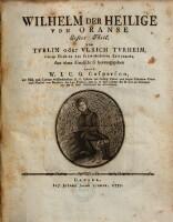 Wilhelm der Heilige von Oranse. 1. Thl. Aus einer handschrift hrsg. durch W. J. C. G. Casparson.