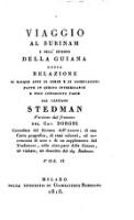 Viaggio Al Surinam E Nell'Interno Della Guiana ... Versione dal francese Del Cav. Borghi (Vol. II.)