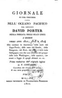 Giornale Di Una Crociera Fatta Nell'Oceano Pacifico Dall Capitano David Porter Sulla Fregata Degli Stati Uniti L'Essex Negli Anni 1812, 1813 E 1814 ... Prima traduzione dall'originale inglese Di F. Contarini ... (Vol. I.)