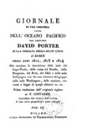 Giornale Di Una Crociera Fatta Nell'Oceano Pacifico Dall Capitano David Porter Sulla Fregata Degli Stati Uniti L'Essex Negli Anni 1812, 1813 E 1814 ... Prima traduzione dall'originale inglese Di F. Contarini ... (Vol. III.)