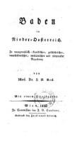 Baden in Nieder-Oesterreich