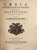 Treja, antica citta Picena, oggi Montecchio, illustrata