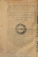 Epistola Lvciferi Ad Spirituales circiter ante Annos Centum, ut ex codicis uetustate apparet, descripta
