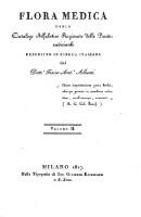 Flora medica, ossia catalogo alfabetico ragionato delle piante medicinali (Vol. 2)