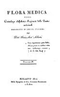 Flora medica, ossia catalogo alfabetico ragionato delle piante medicinali (Vol. 4)