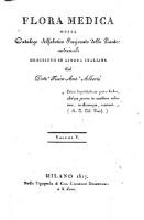 Flora medica, ossia catalogo alfabetico ragionato delle piante medicinali (Vol. 5)