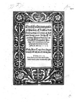 Entschuldigung ainer frummen christlichen Gemain zu Memmingen mit sampt jren Bischoff ... von wegen der Empörungen, so sich bey vns begeben im Jar 1525