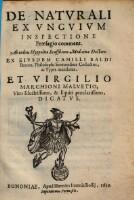 De Naturali Ex Unguium Inspectione Praesagio comment.