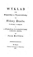 Wyklad cili Primetky a Wyswetliwky ku Slawy Dcere