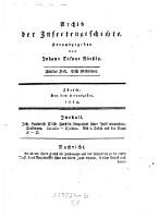 Archiv der Insectengeschichte (Fünftes Heft, Erste Abtheilung 1784.)