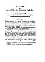 Archiv der Insectengeschichte ( Sechstes Heft 1785.)