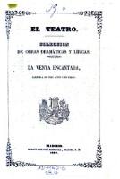 La venta encantada; Zarzuela en 3 actos y en verso