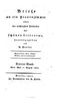 Vom Mai - August 1801