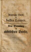 L'Elite des plus belles lettres de Messieurs de l'Academie Francoise et d'autres celebres Modernes sur toutes sortes de sujets avec des Notes Recueillies par Charles Mouton